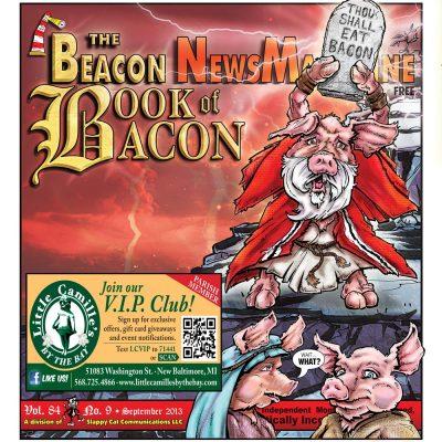 The Beacon News Magazine, The Book of Bacon cover
