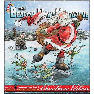 Beacon News Magazine Christmas issue cover