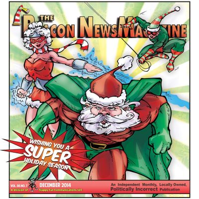 Beacon NewsMagazine Christmas Issue cover - 2014