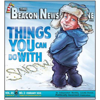 The Beacon News Magazine Winter 2014 cover