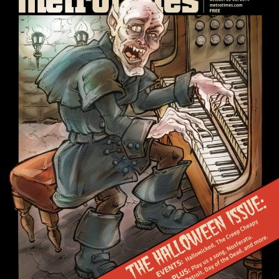 Metro Times Halloween Issue cover