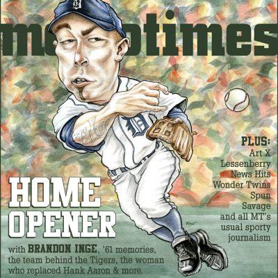 MetroTimes Home Opener 2011 cover
