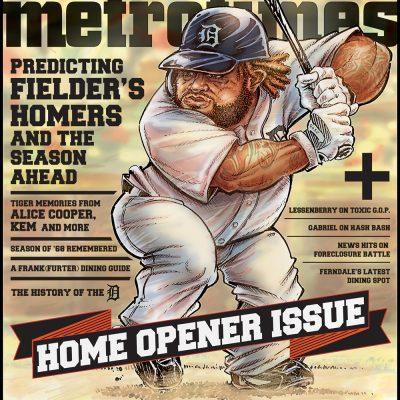 MetroTimes Home Opener 2012 cover
