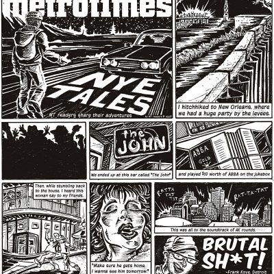 MetroTimes New Years Eve Tales cover