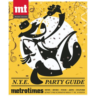 MetroTimes New Years Eve Party Guide 2012 cover