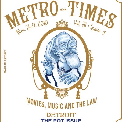 MetroTimes Pot Issue 2010 cover