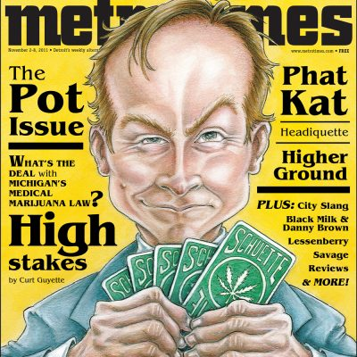 MetroTimes Pot Issue cover 2011