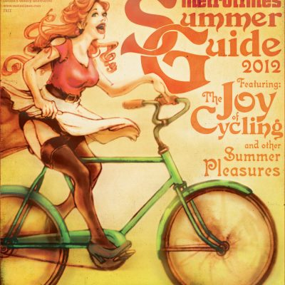 MetroTimes Summer Guide 2012 cover