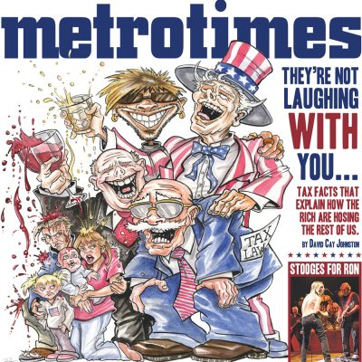 MetroTimes Tax Law cover