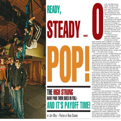 Metro Times - The High Strung - cover story spread - 2012