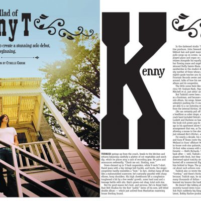 Metro Times - Editorial layout - The Ballad of Kenny T - story by Brian Smith, photos by Cybelle Codish